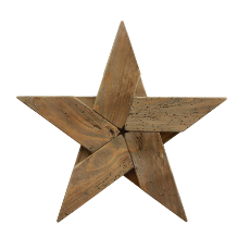 Farmhouse five pointed star l