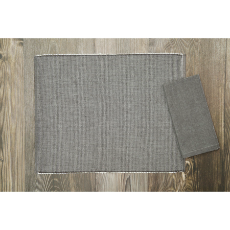 Placemat chambray elements