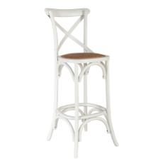 Mirage cross back bar stool
