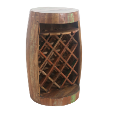 Kira barrel wine rack