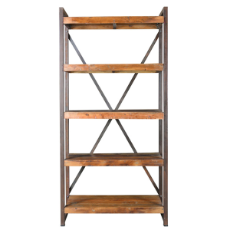 Nandi slim book case