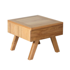 Toulouse lamp table natural