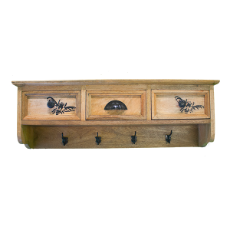 Kashmir rack 3 drawer 4 hooks