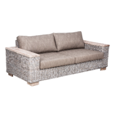 Solar 3 seater sofa white