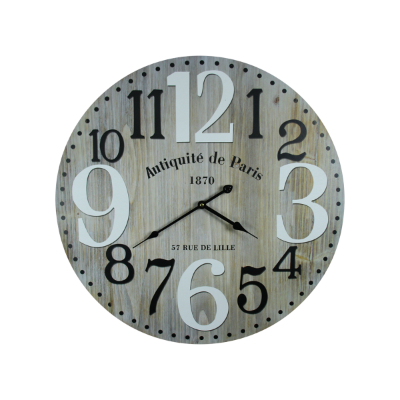 Clock antique de paris 58cm