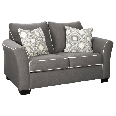 Darla 2 seater fabric lounge