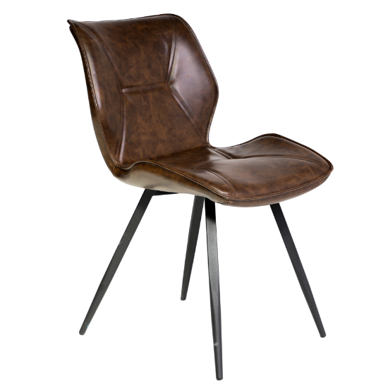 Enterprise brown dining chair