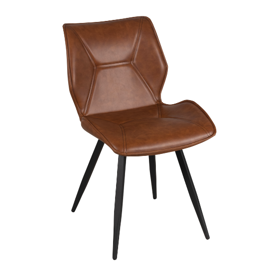 Enterprise tan dining chair