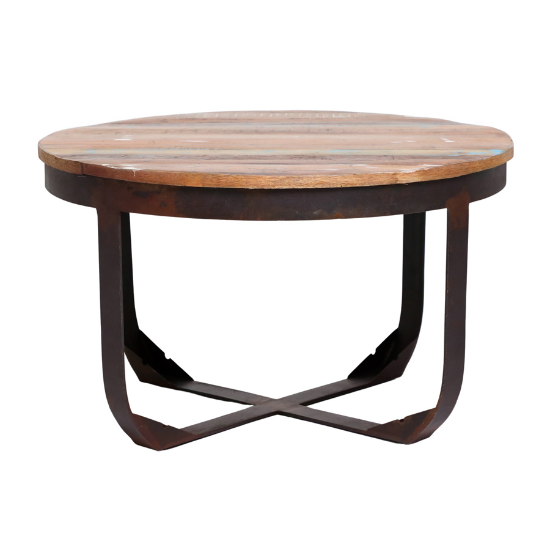 Nandi round coffee table