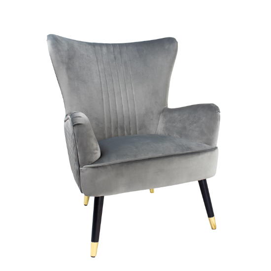 Enzo grey occasional chair