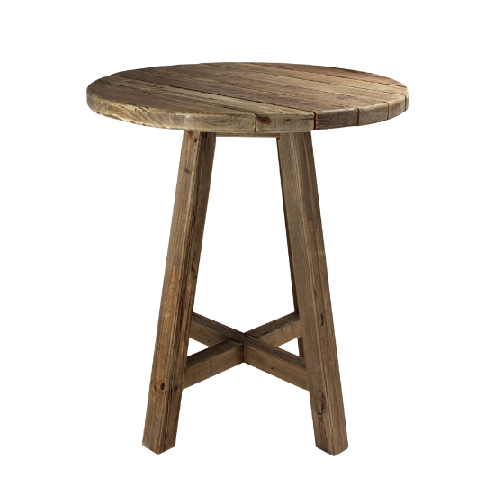 Farmhouse bar table round 90cm