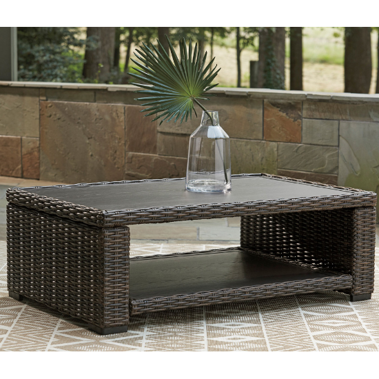 Malibu patio coffee table