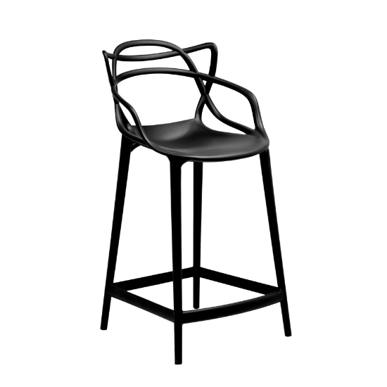 Swami counter stool black