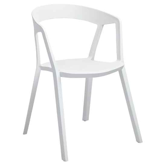 Phillippe chair white