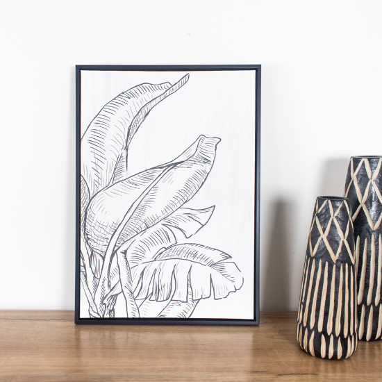 Banana leaves 50x70cm