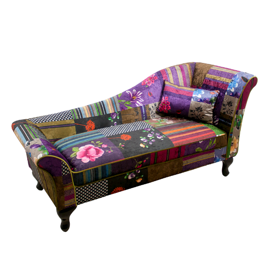 Leon rhf chaise purple patch