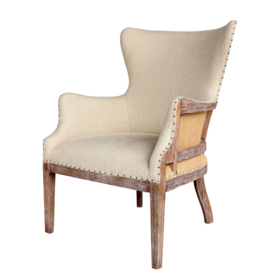 Talea cream arm chair