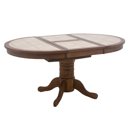 Round tile top table